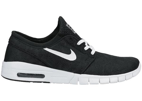 on sale 40b1f e3c75 Nike SB Stefan Janoski Max Black White - 631303-010