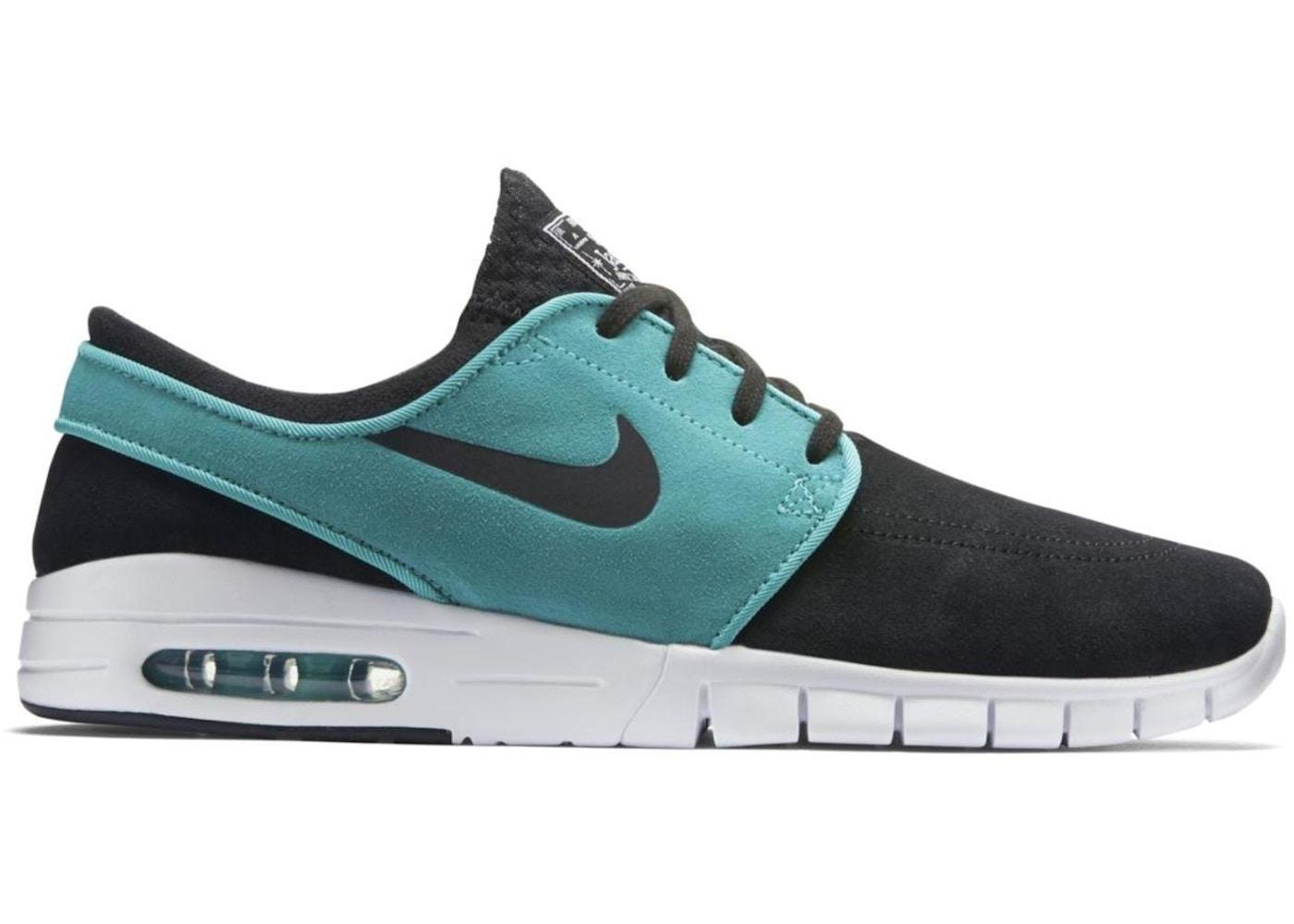 Nike SB Stefan Janoski Max Leather Black Mint Retro - 685299-031 f4c1a2f0620e