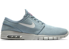 Sindicato capacidad cero  Nike SB Stefan Janoski Max Leather Blue Graphite - 685299-406