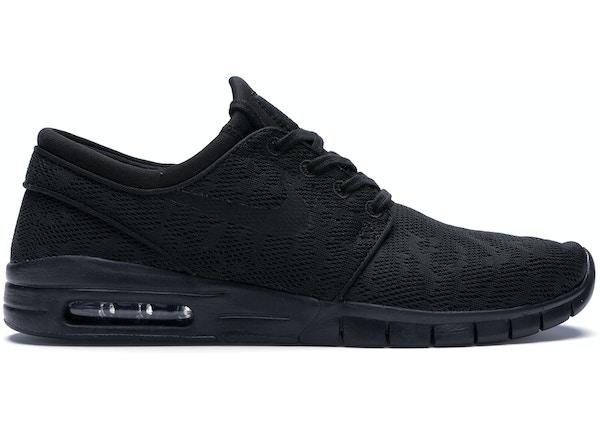 premium selection df579 bad7e Nike SB Stefan Janoski Max Triple Black