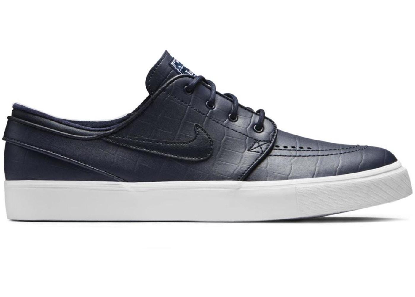 95bec316 Nike SB Stefan Janoski Zoom Blue Croc - 708417-441