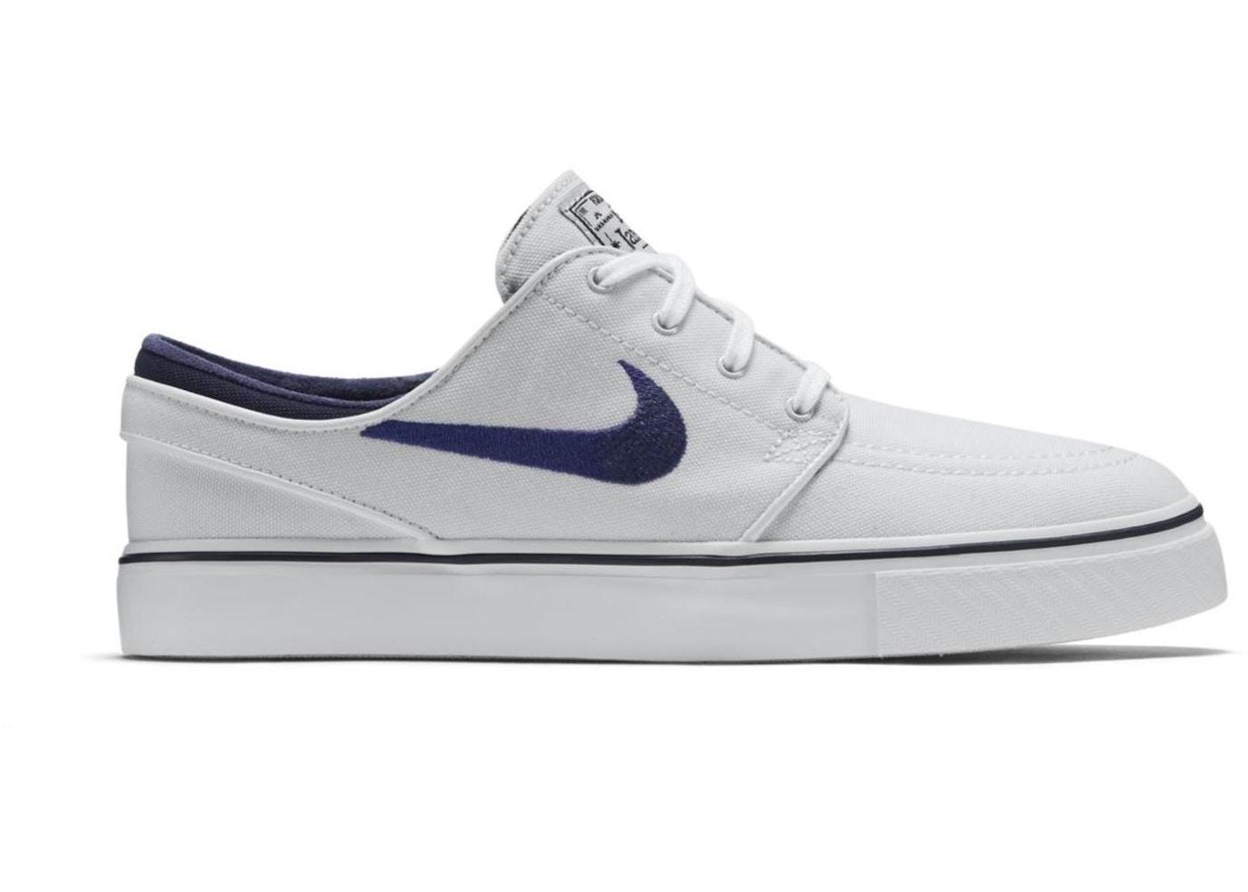 release date: 9088e 5c9a0 Nike SB Stefan Janoski Zoom Canvas Summit White