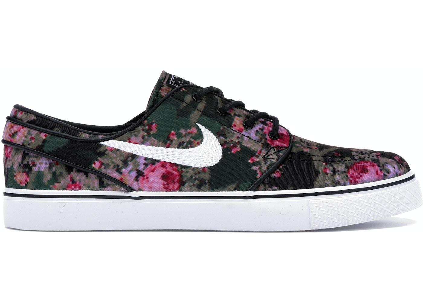 jaloissa kuuma myynti myyntipisteiden myynti Nike SB Stefan Janoski Zoom Digi Floral Pink (2016)