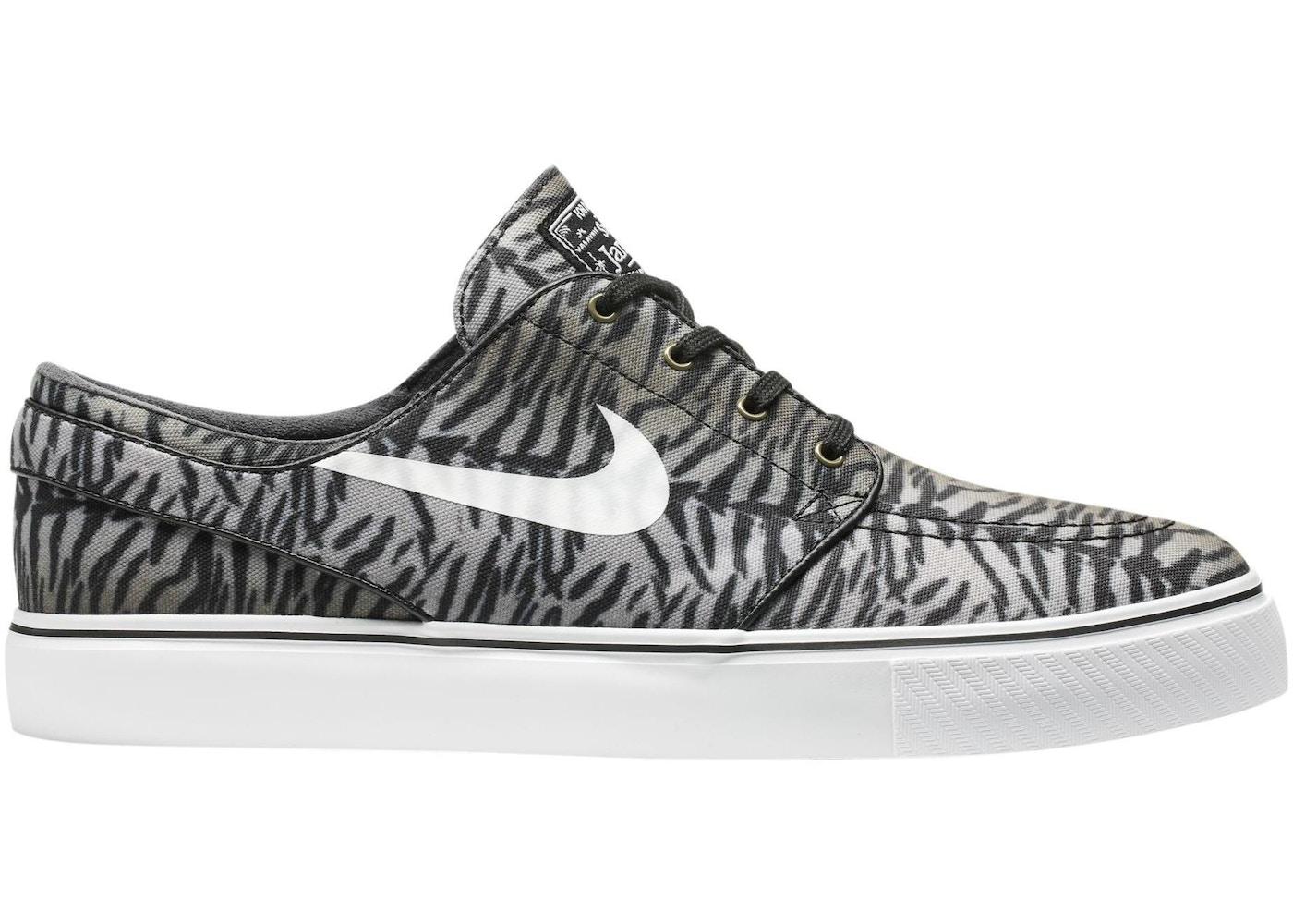 fe9d454e Nike SB Stefan Janoski Zoom Tiger Pack Black - 615957-013
