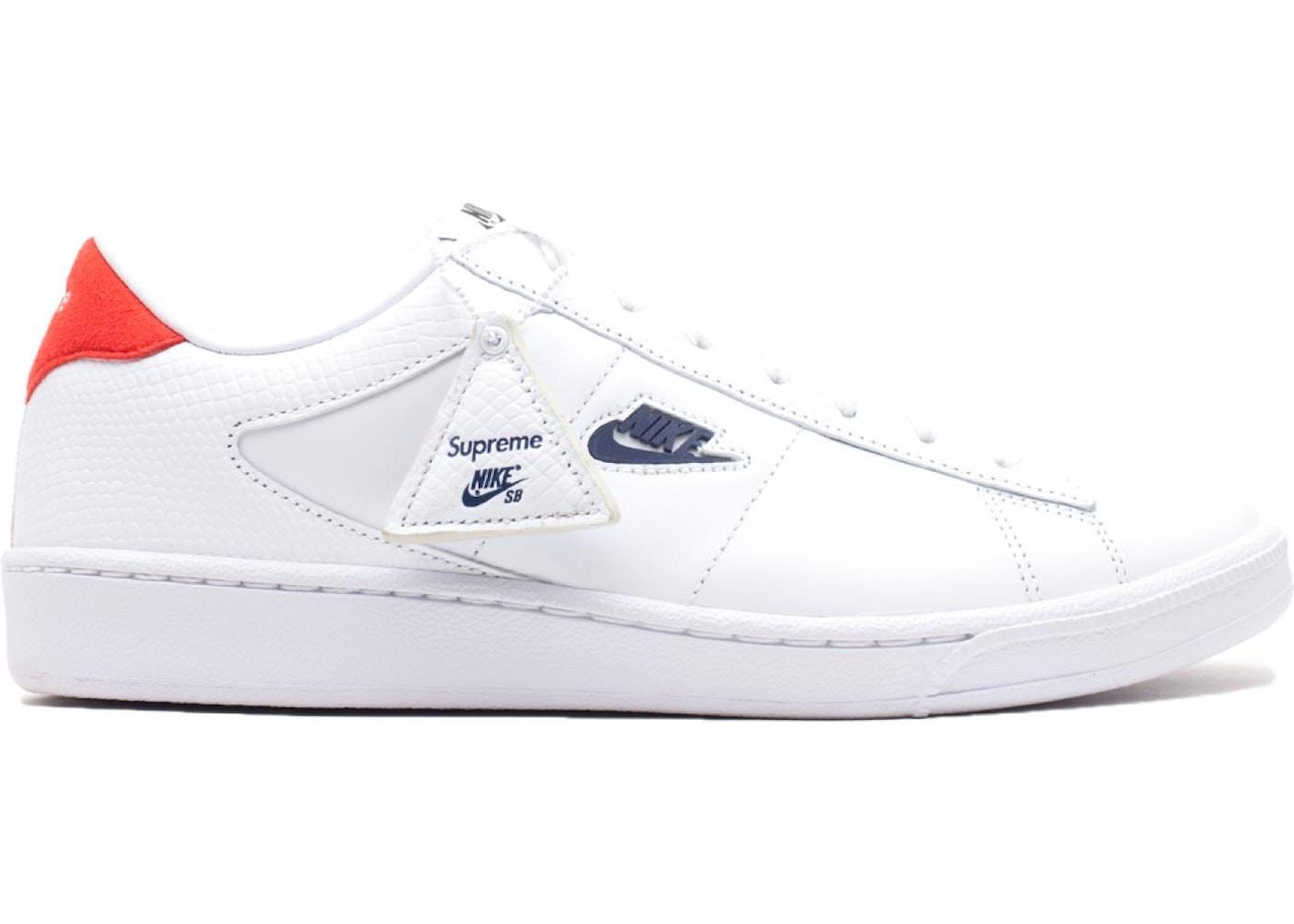 info pour 8619b 2e854 Nike SB Tennis Classic Supreme White