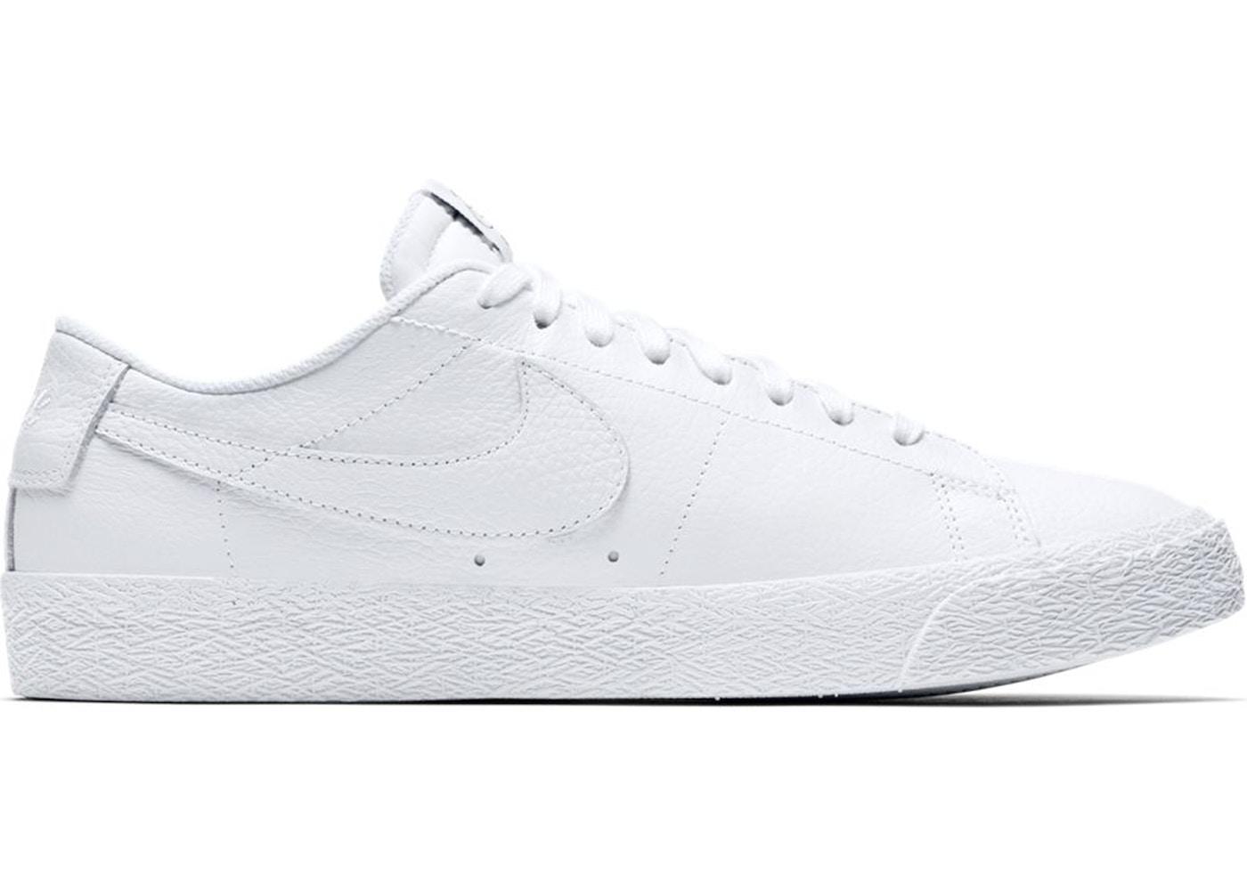 newest 9e5bc 0b322 Nike SB Zoom Blazer Low NBA White