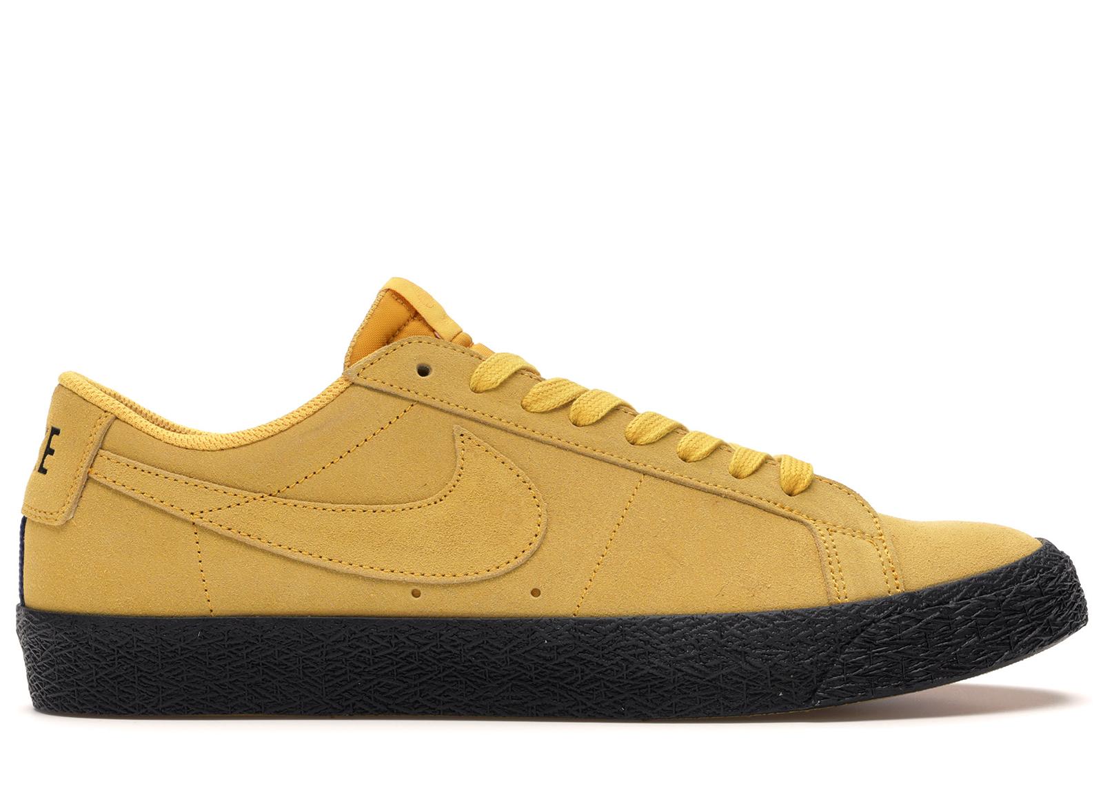 Nike SB Zoom Blazer Low Yellow Ochre