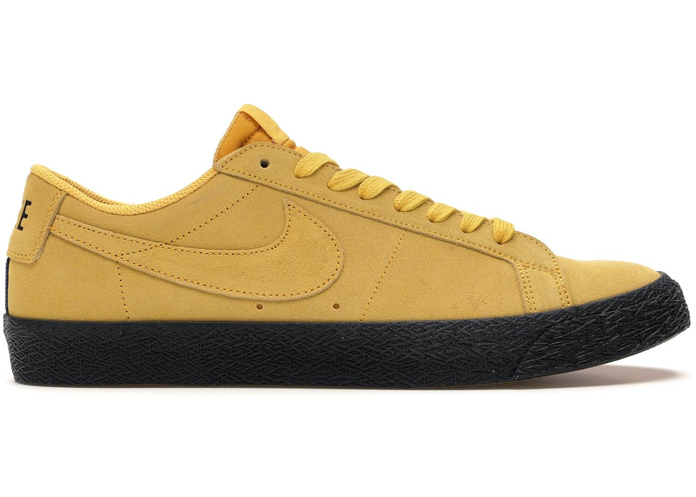 Listo Uganda Conquistar  Nike SB Zoom Blazer Low Yellow Ochre - 864347-701