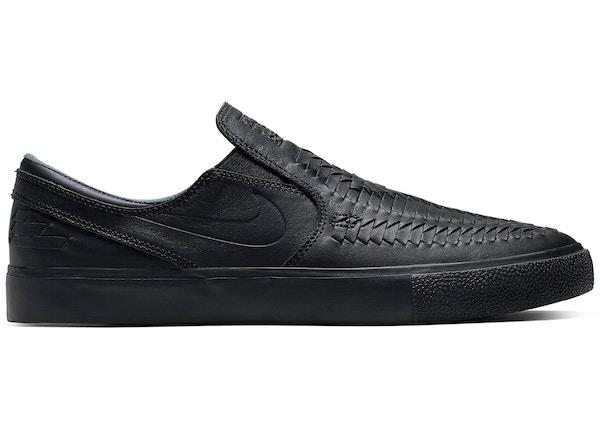 8ca1c34cdafcc Nike SB Zoom Stefan Janoski Slip RM Crafted Woven Black