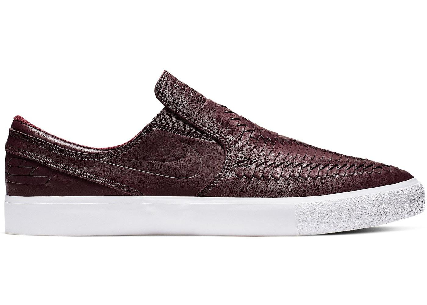 najnowszy najlepsza cena miło tanio Nike SB Zoom Stefan Janoski Slip RM Crafted Woven Mahogany