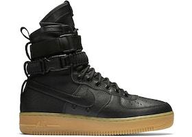 Nike Sf Air Force 1 Black Gum 859202 009