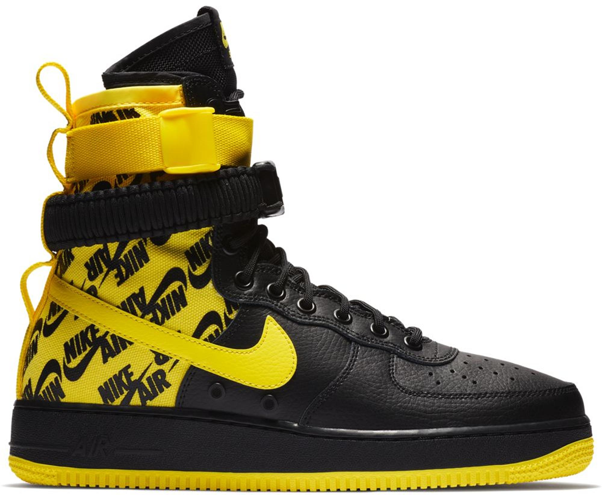 Nike SF Air Force 1 High Black Dynamic