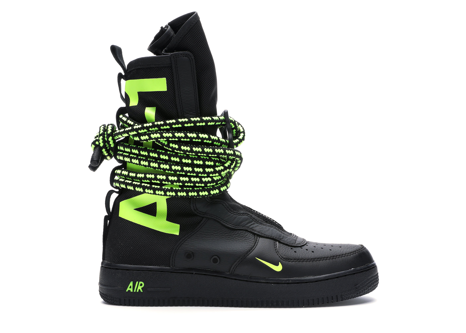 Nike SF Air Force 1 High Black Volt