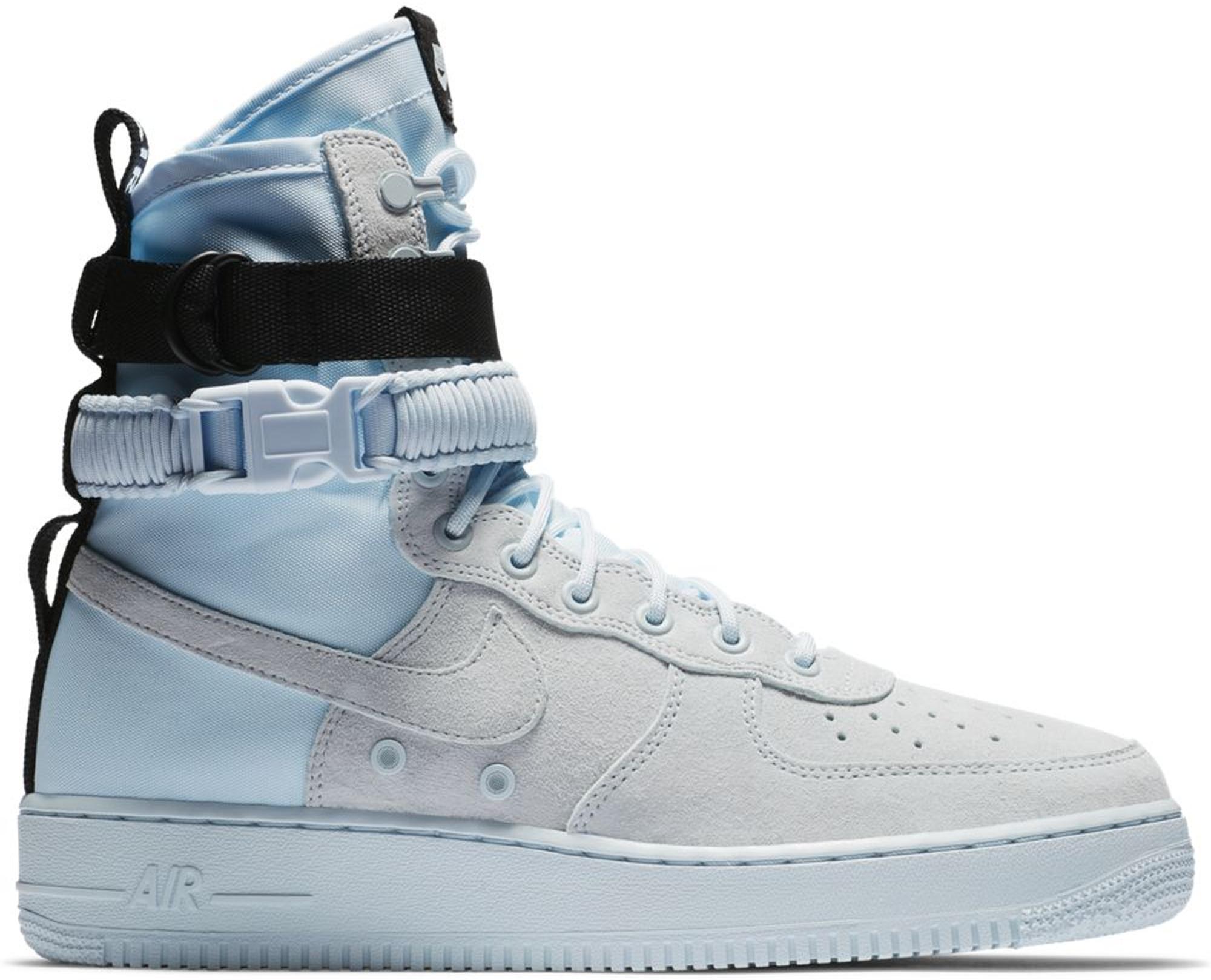 Pre-Owned Nike Sf Air Force 1 High Blue