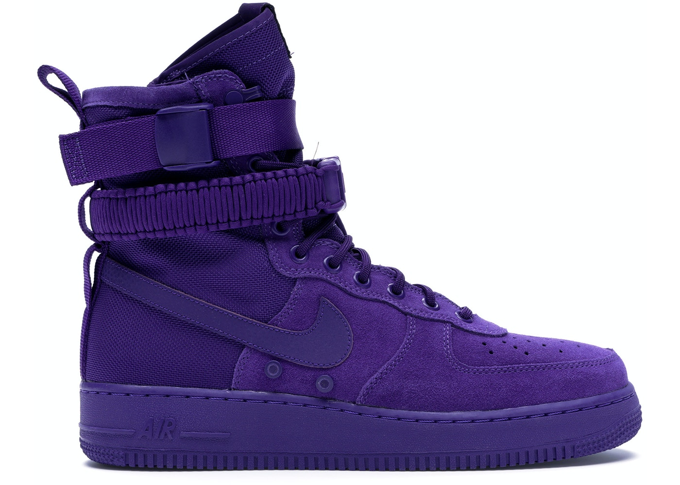 best sneakers 1becd 333f1 Nike SF Air Force 1 High Court Purple