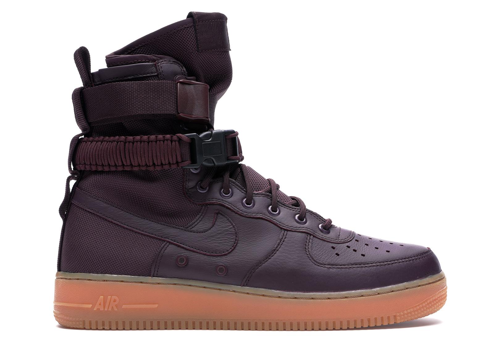 Nike SF Air Force 1 High Deep Burgundy