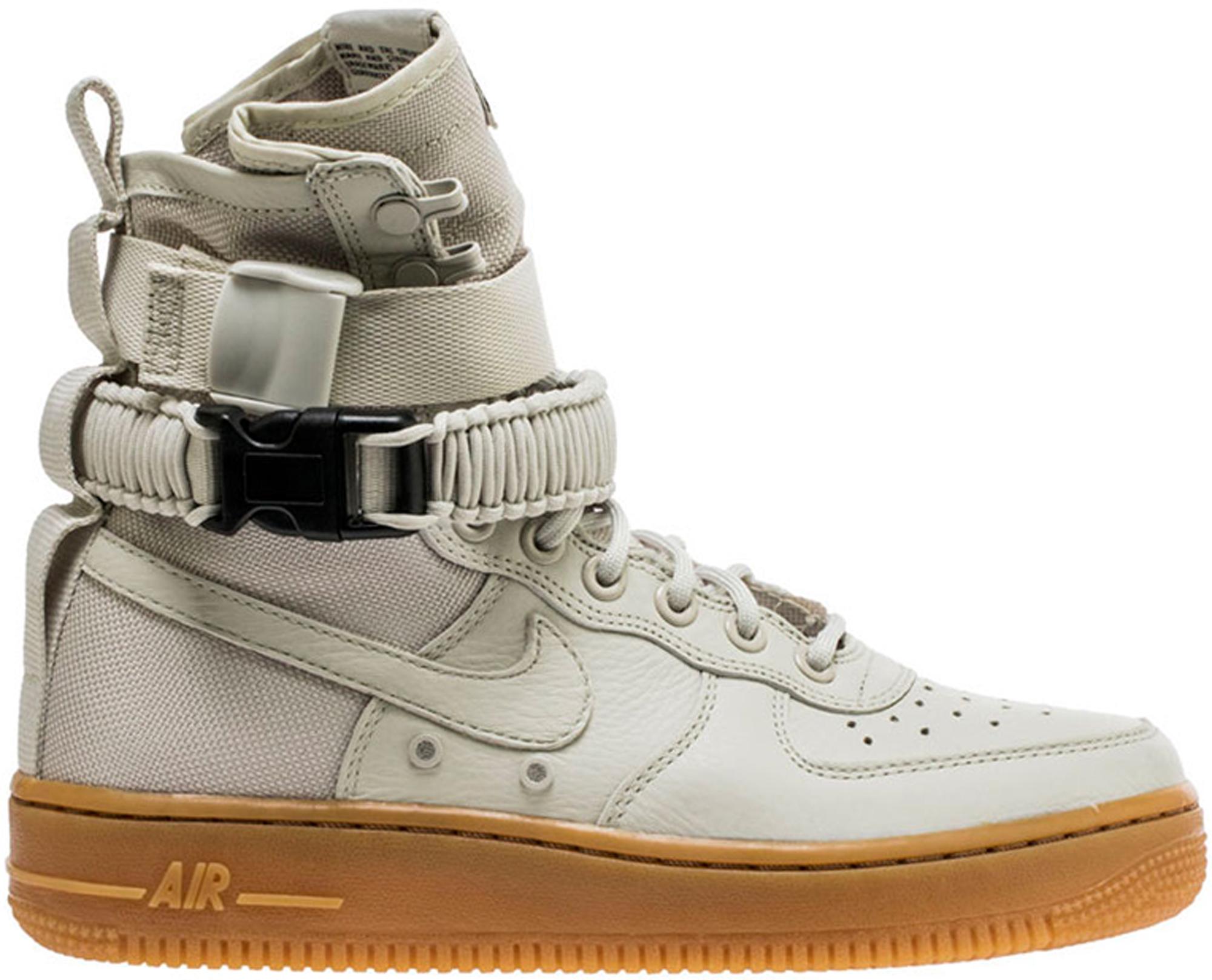 Nike SF Air Force 1 High Light Bone (W)