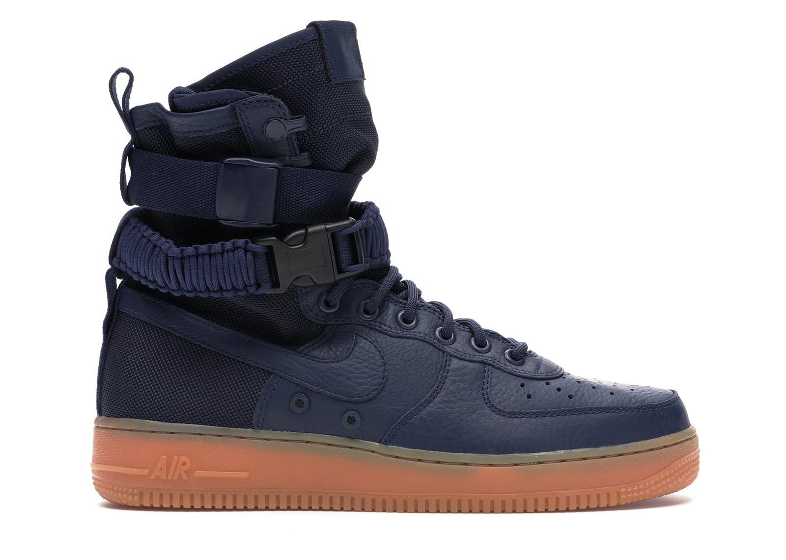 Nike SF Air Force 1 High Navy Gum