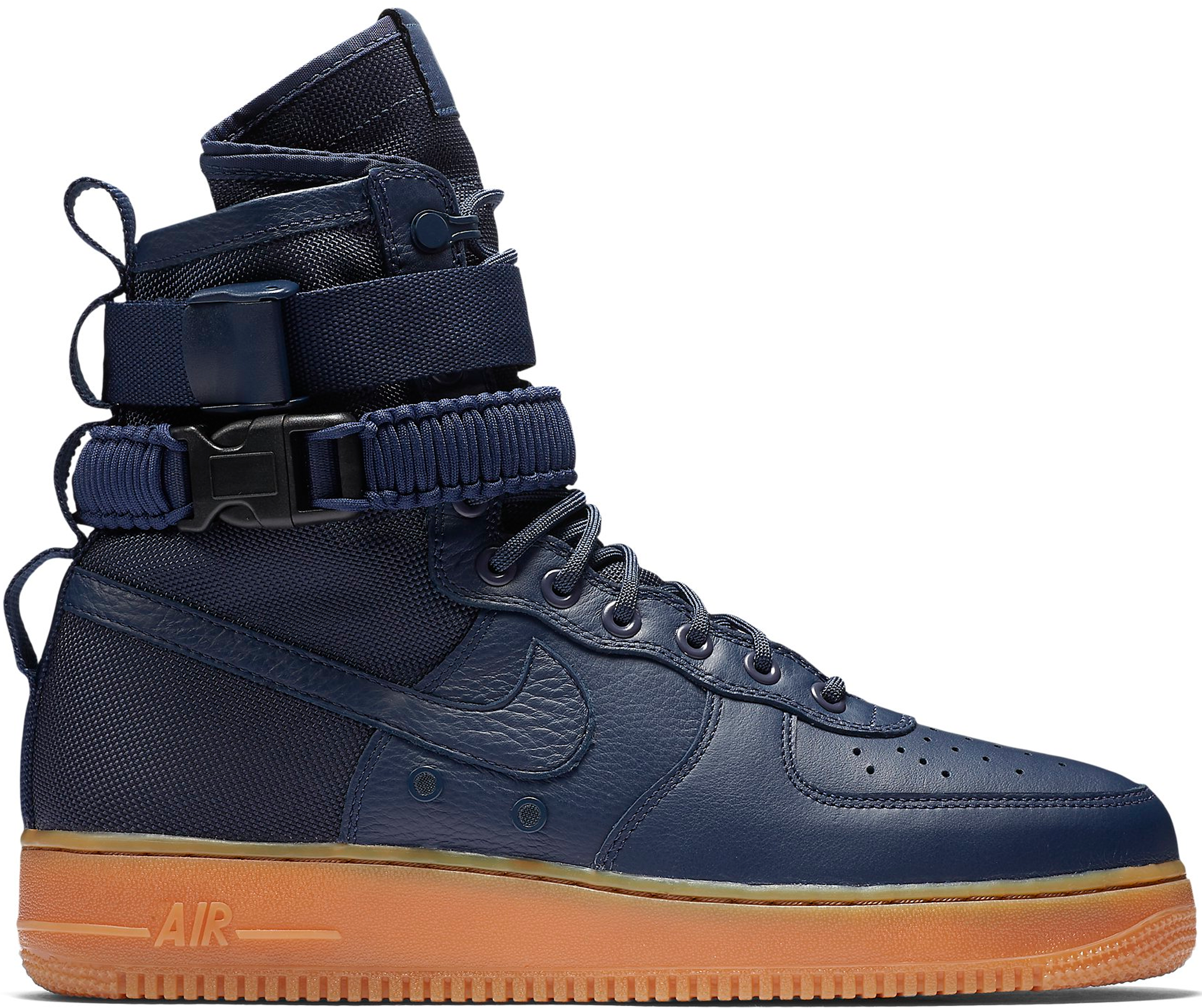 Nike SF Air Force 1 High Navy Gum