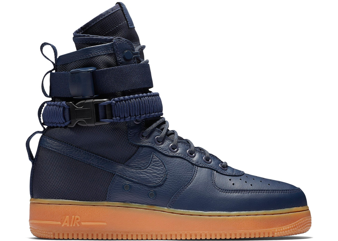 e3a24ad36789 HypeAnalyzer · Nike SF Air Force 1 High Navy Gum