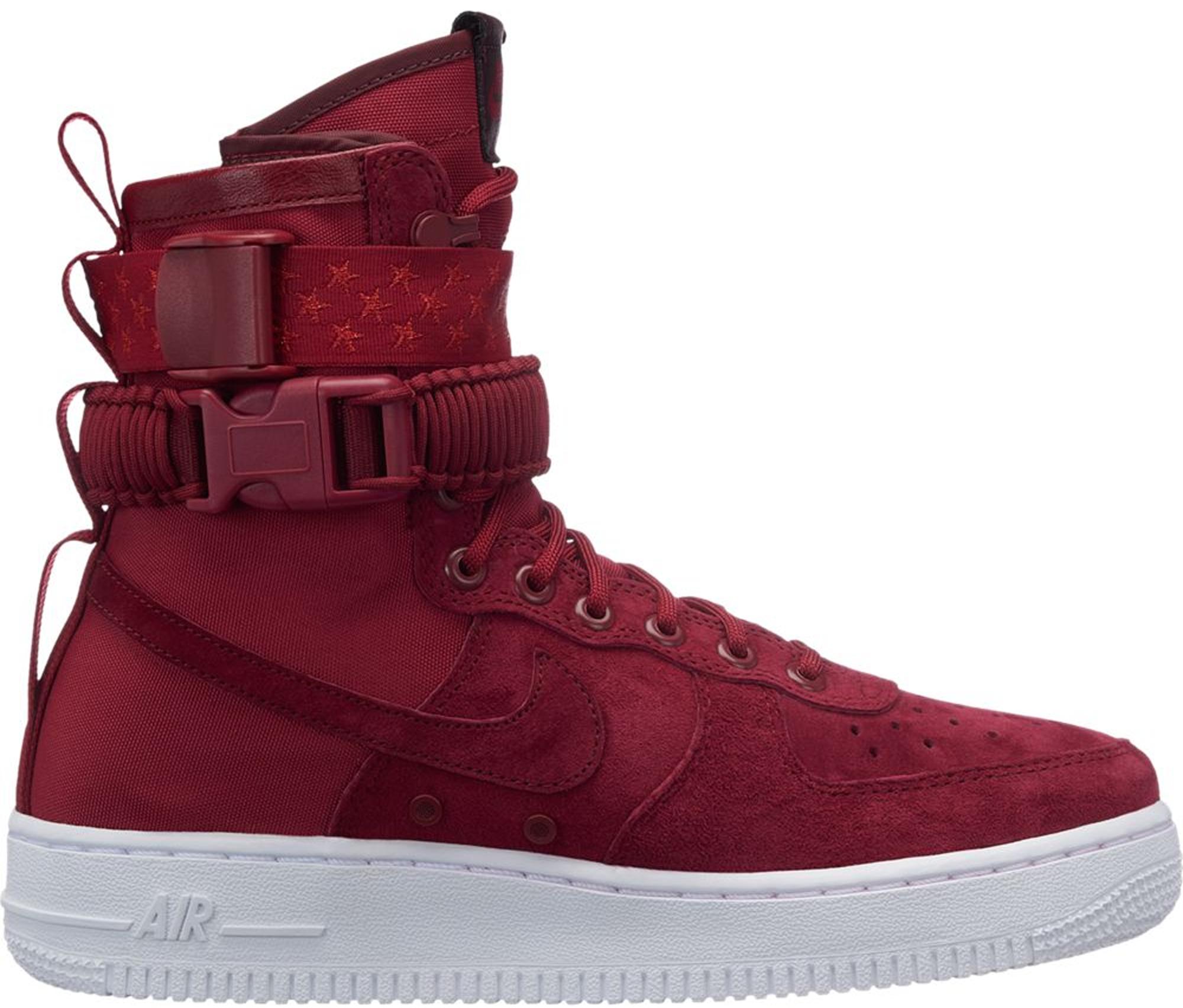 Nike SF Air Force 1 High Red Crush (W