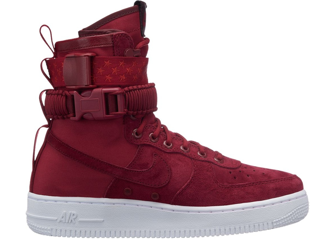 the latest 51722 9cc3f SF Air Force 1 High Red Crush (W)
