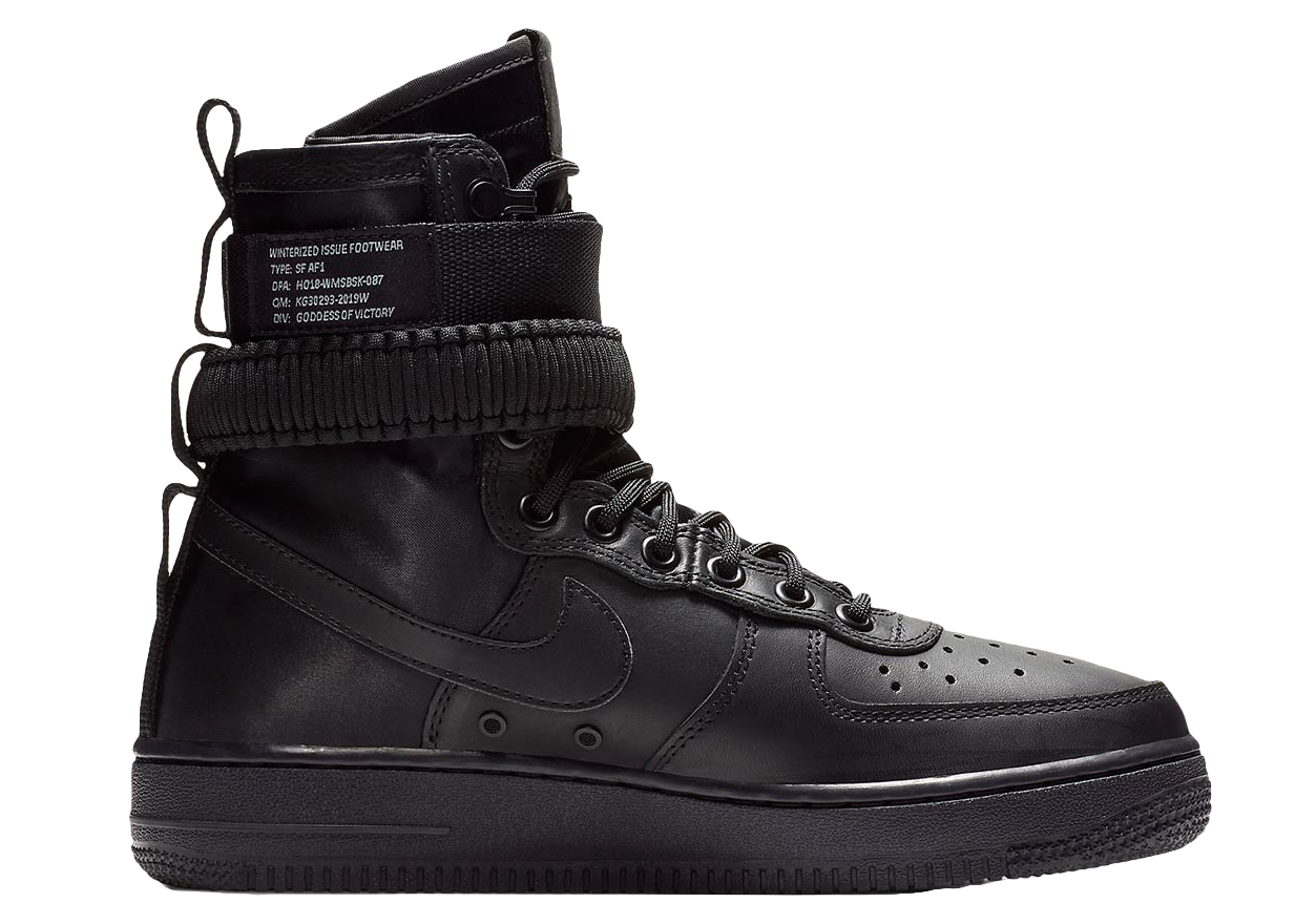 Force Triple LeatherW 1 Black Air l3JcuF1KT