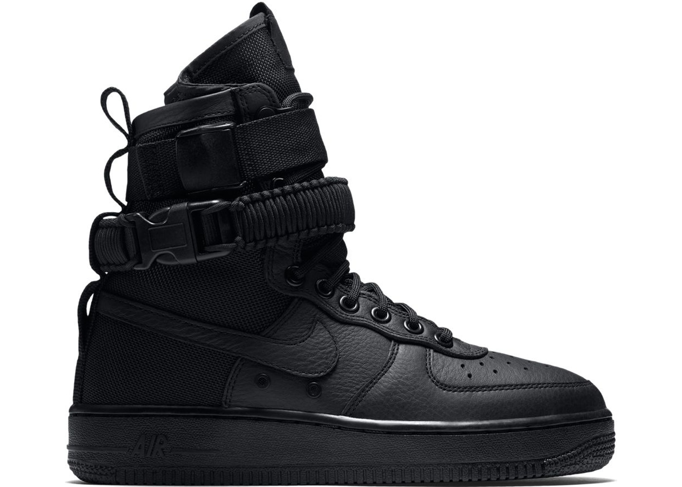 Nike SF Air Force 1 High Triple Black (W)
