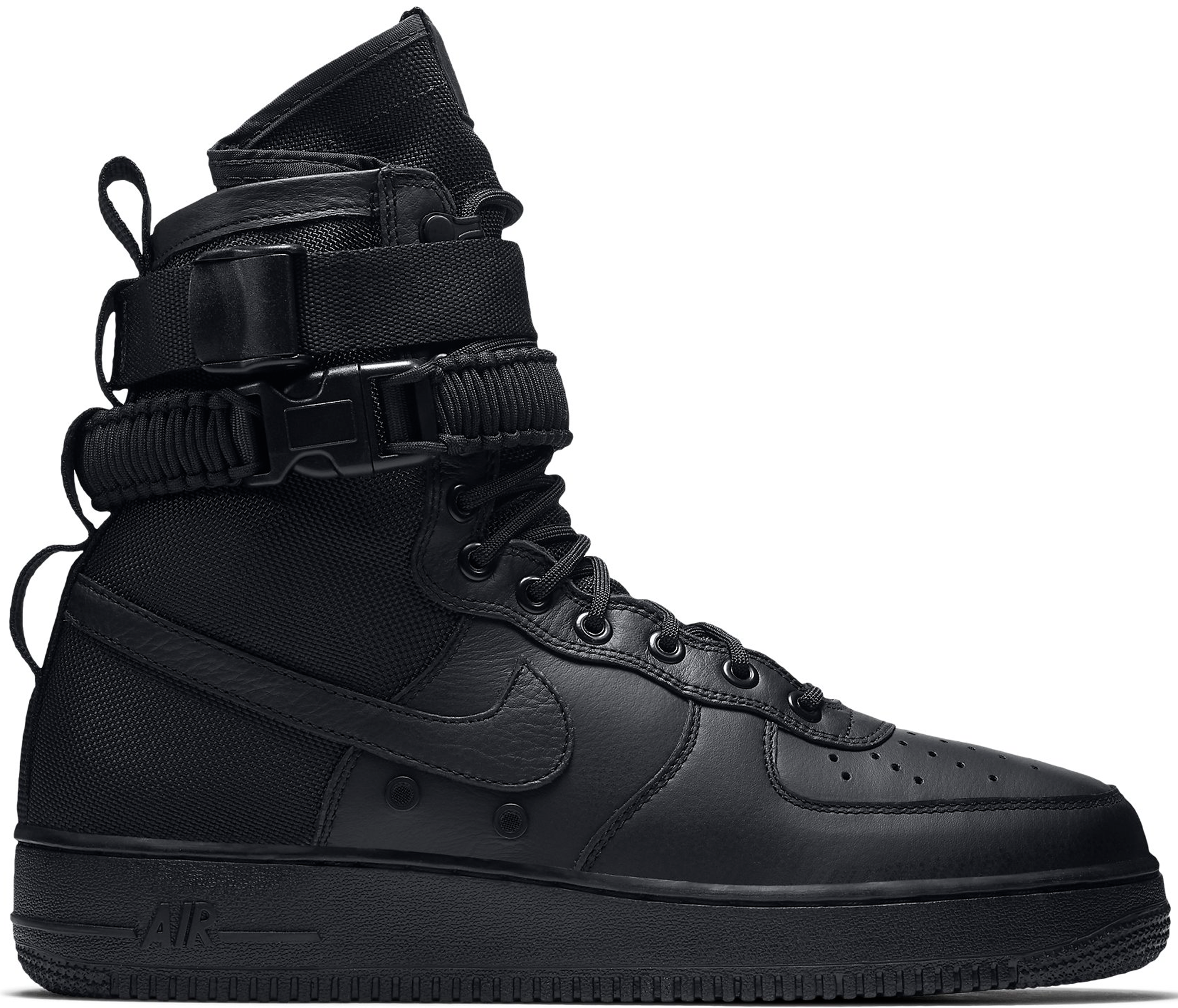 Force air nike 1 high top black advise to wear in summer in 2019