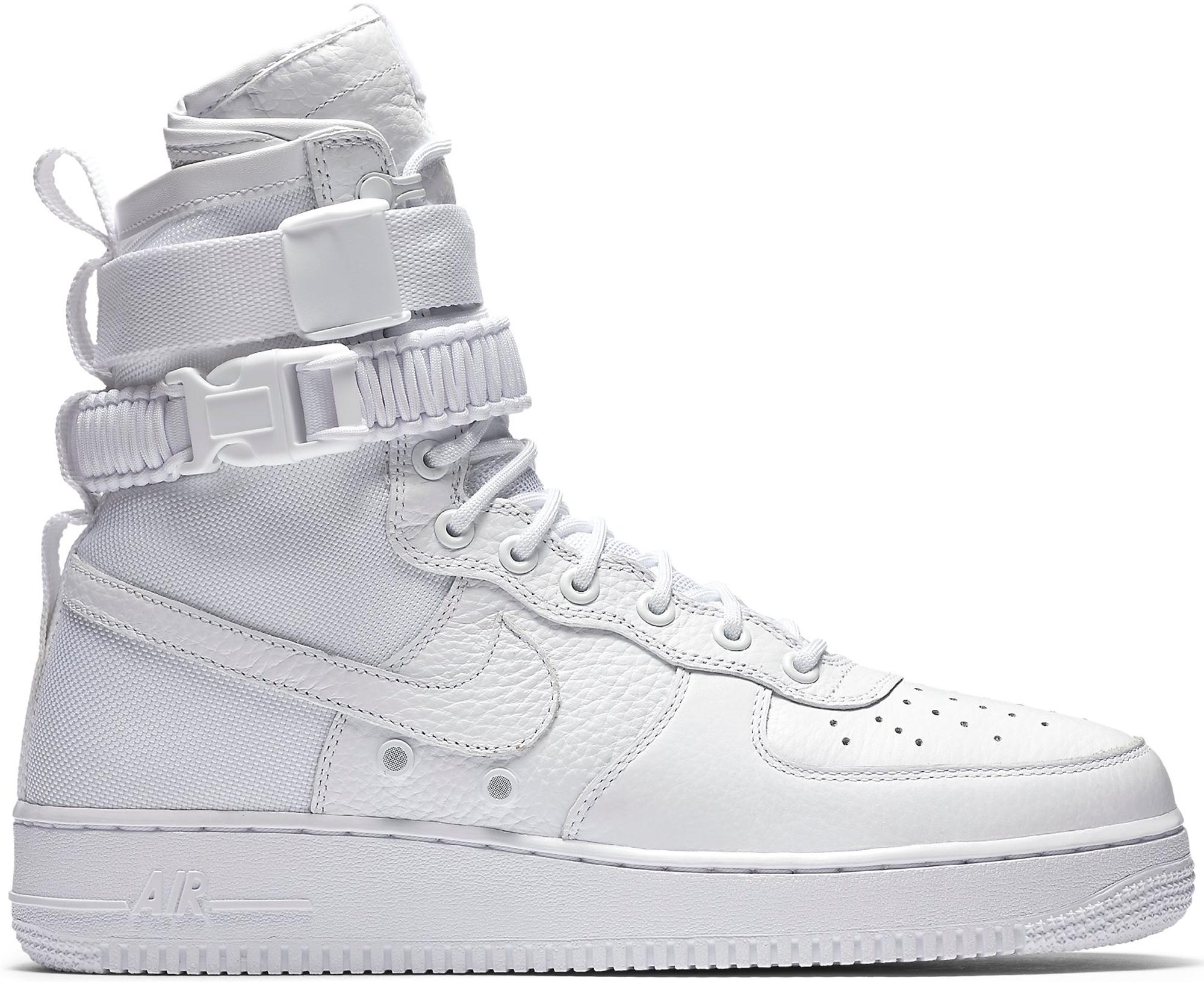 Nike SF Air Force 1 High White (2017)
