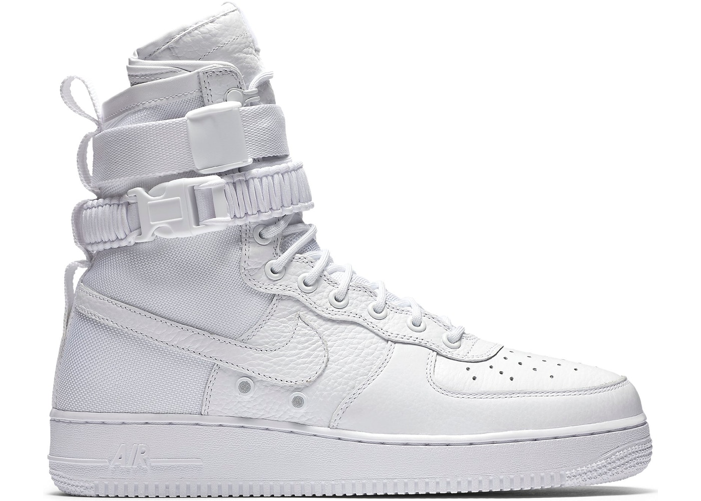 nike sf air force 1 high white 2017 903270 100. Black Bedroom Furniture Sets. Home Design Ideas