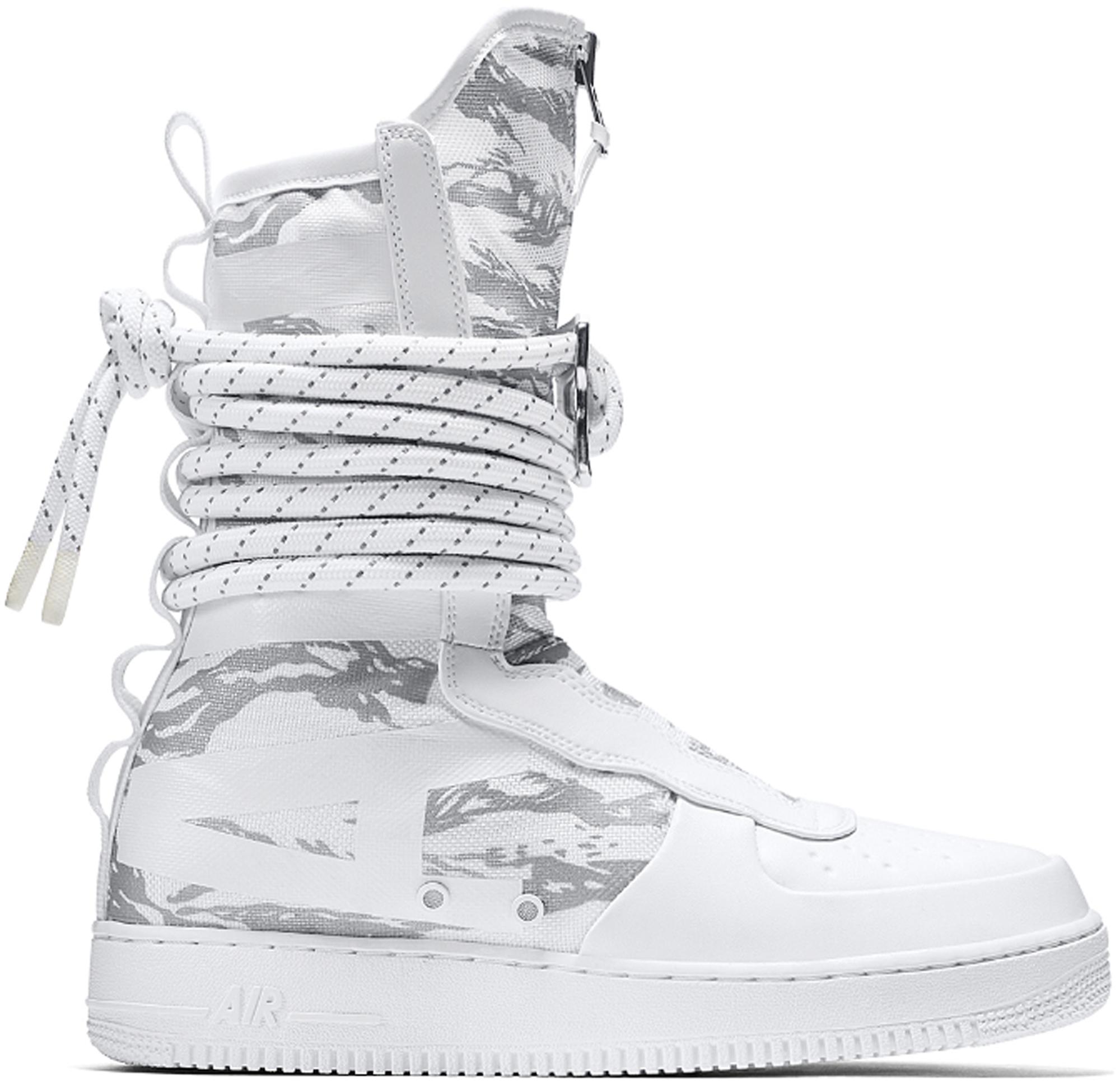 Nike SF Air Force 1 High Winter Camo