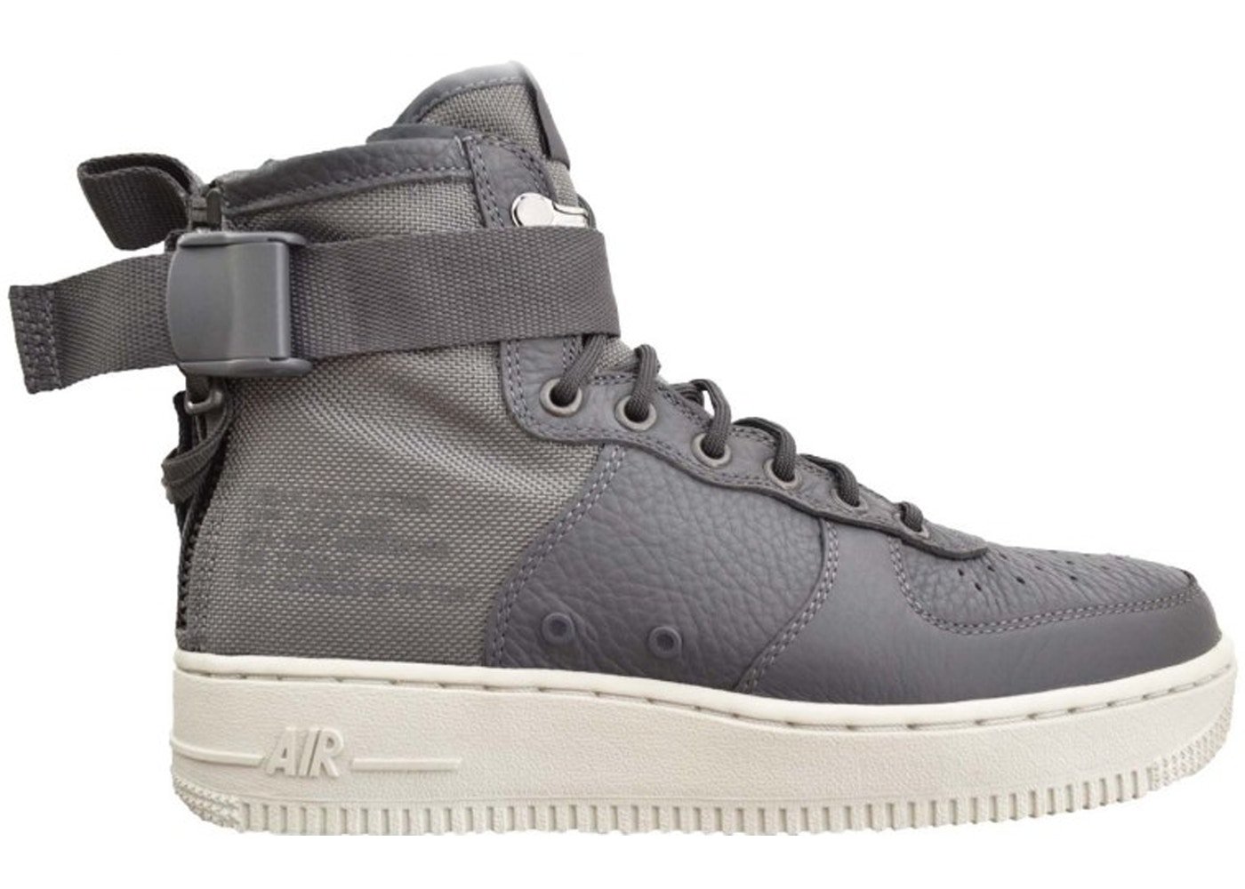outlet store afb77 4f704 Nike SF Air Force 1 Mid Dark Grey