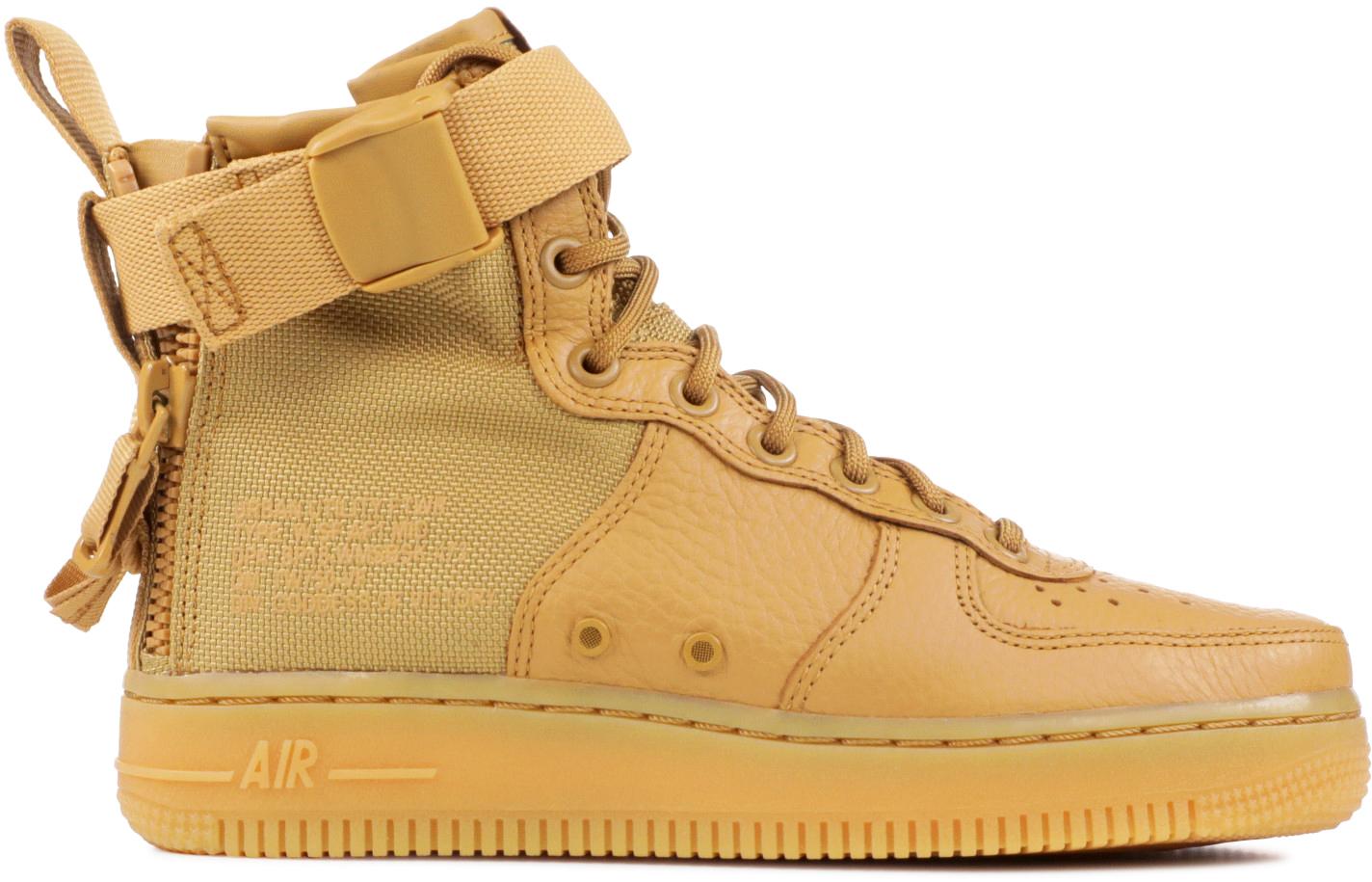 Nike SF Air Force 1 Mid Elemental Gold