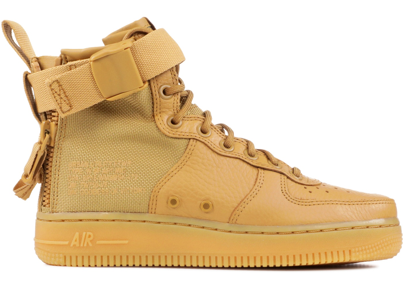 info pour 0be9b 02fb7 SF Air Force 1 Mid Elemental Gold (W)
