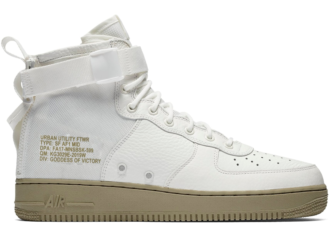 nike sf air force 1 mid bianche