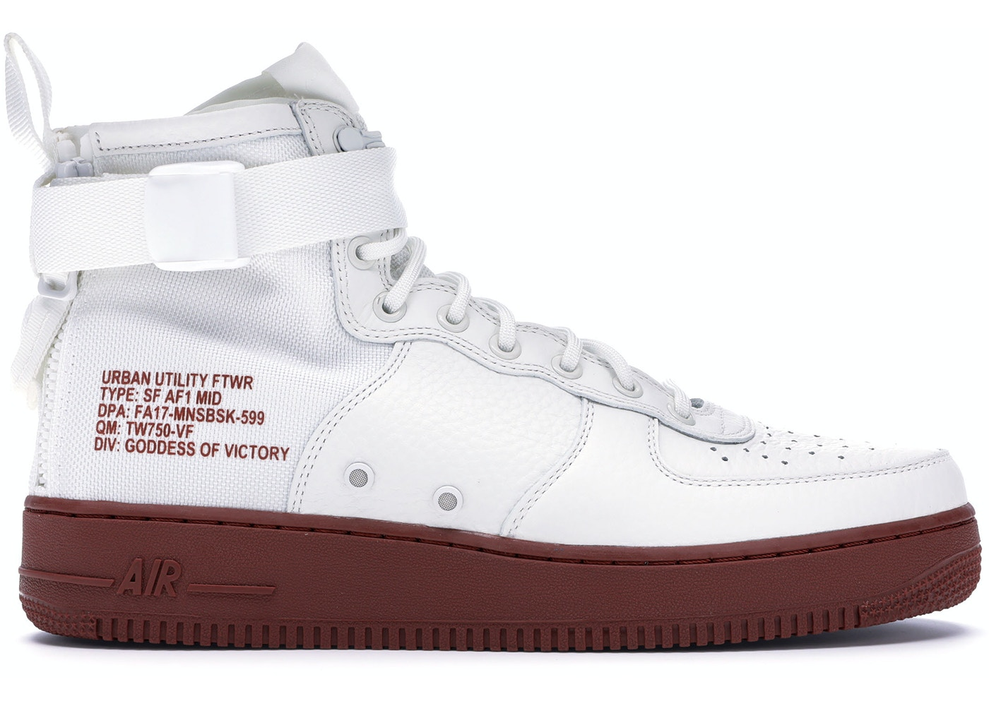 classic fit 48000 3f3cf SF Air Force 1 Mid Ivory Mars Stone - 917753-100