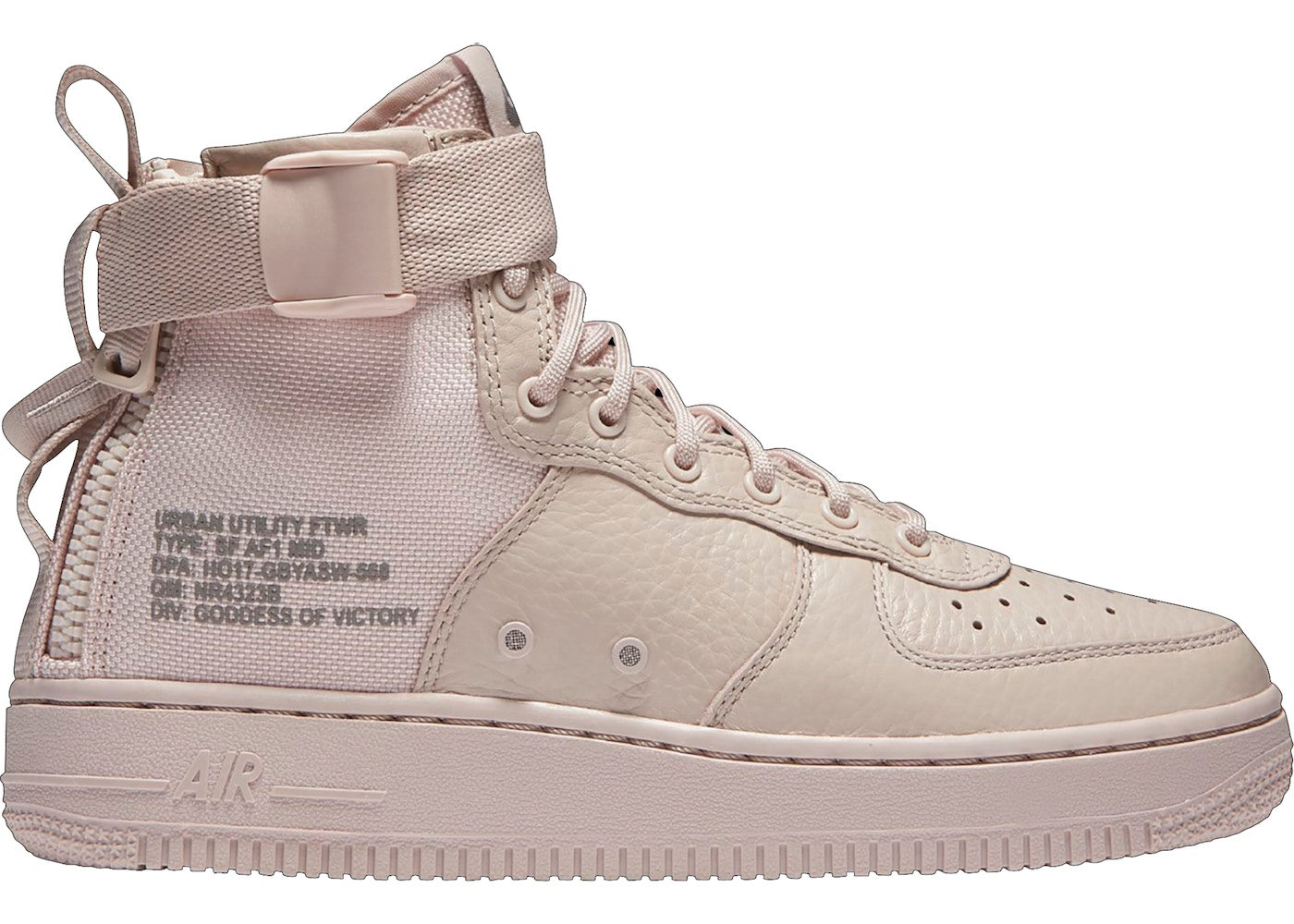timeless design fea08 3c6f5 Nike SF Air Force 1 Mid Silt Red (GS)