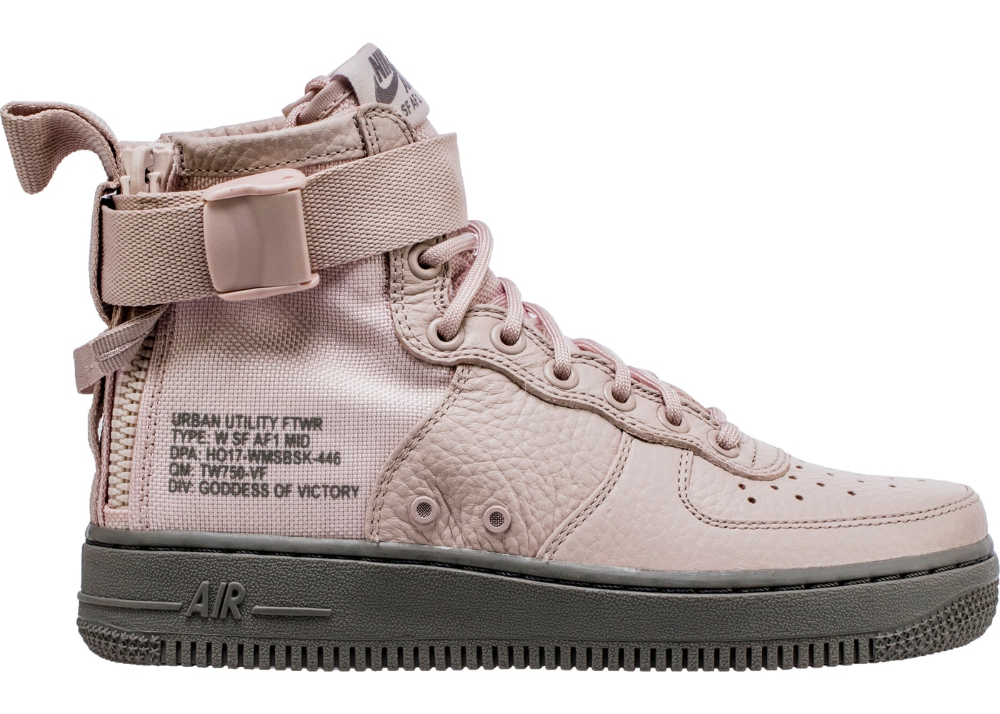 cheaper c51cf e5757 HypeAnalyzer · Nike SF Air Force 1 Mid Silt Red (W)