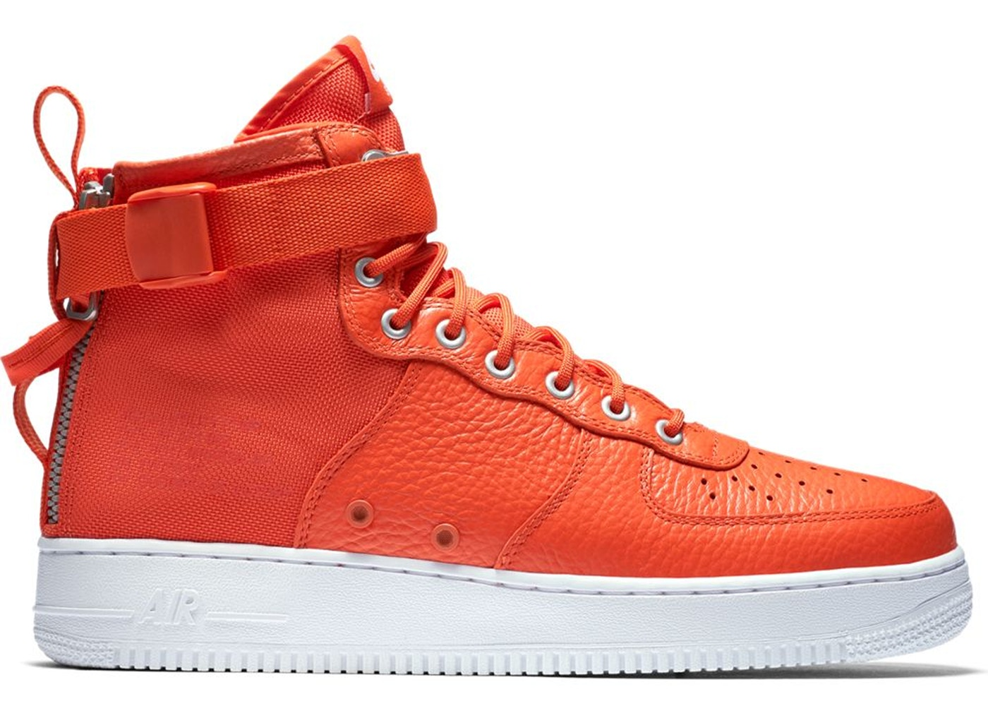 promo code 4c2d5 3e9db SF Air Force 1 Mid Team Orange - 917753-800