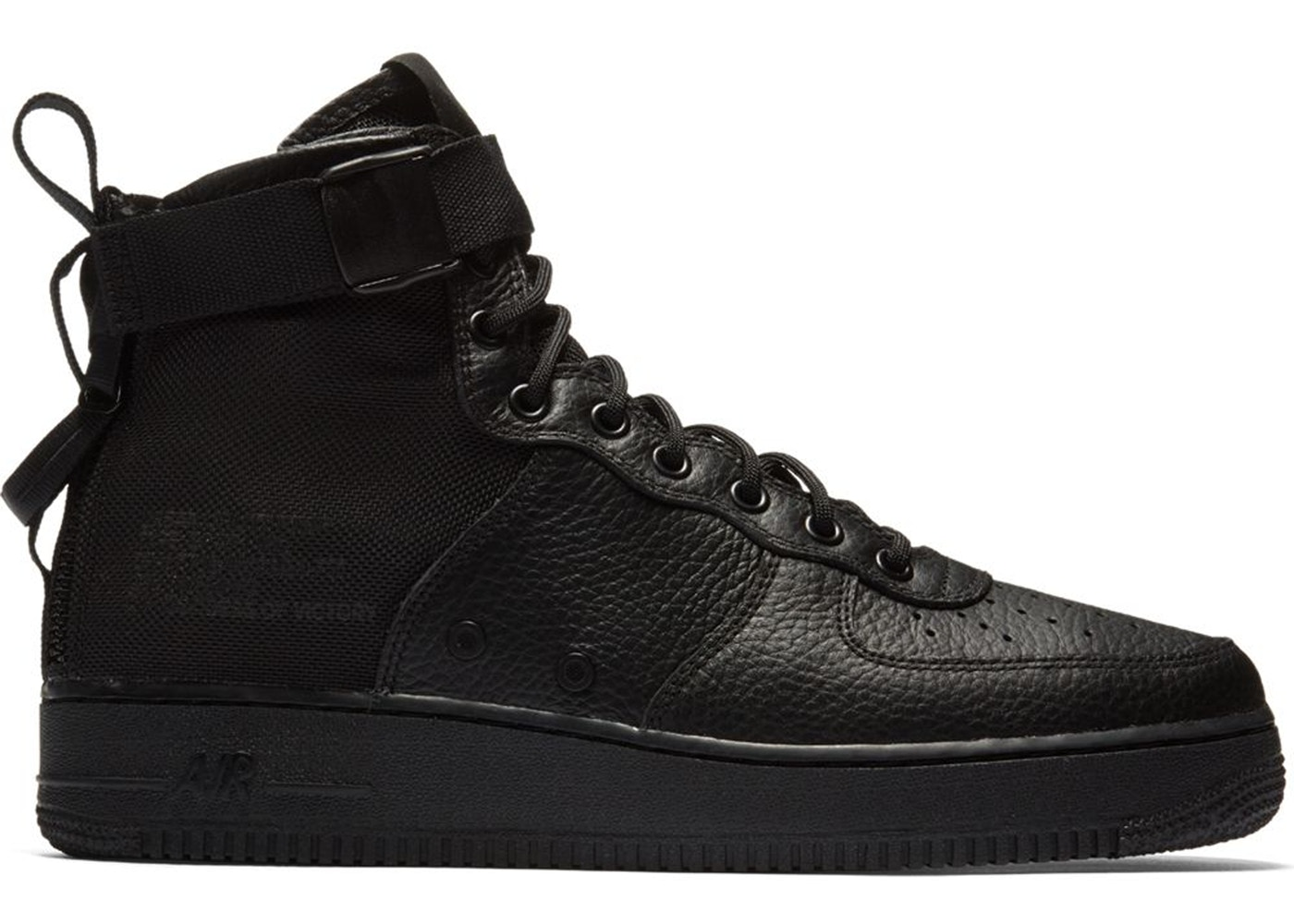 SF Air Force 1 Mid Triple Black