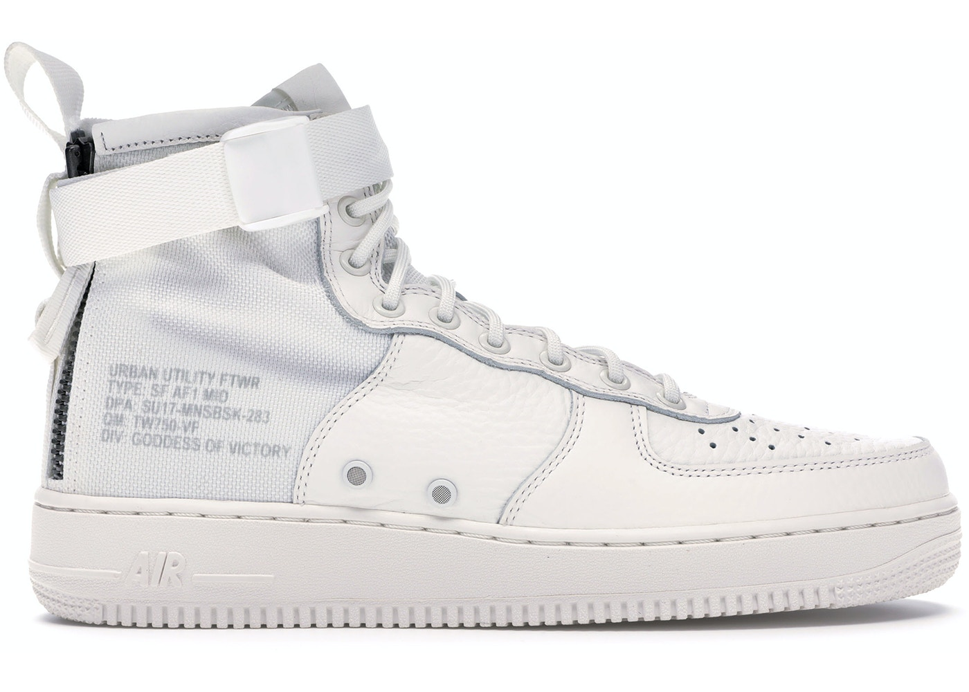 the latest b6f39 82624 SF Air Force 1 Mid Triple Ivory