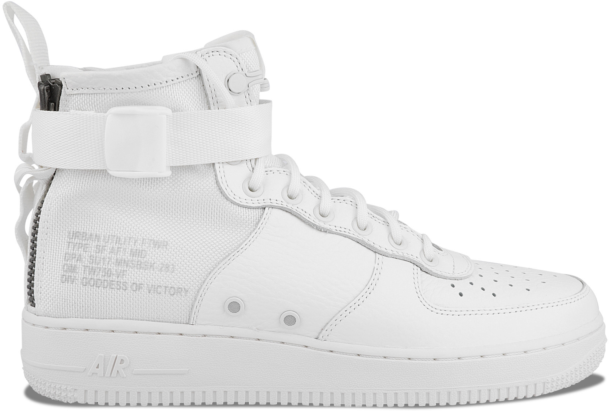 SF Air Force 1 Mid Triple Ivory