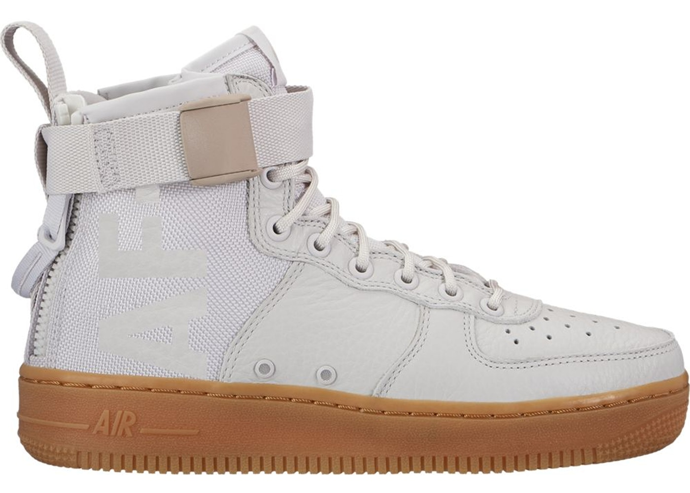 online store 42989 008af SF Air Force 1 Mid Vast Grey (W)