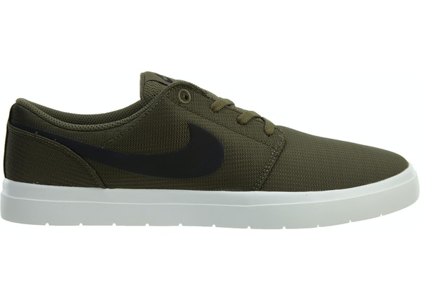 on sale ae0ea 1d3b1 Nike Sb Portmore II Ultralight Medium Olive Black