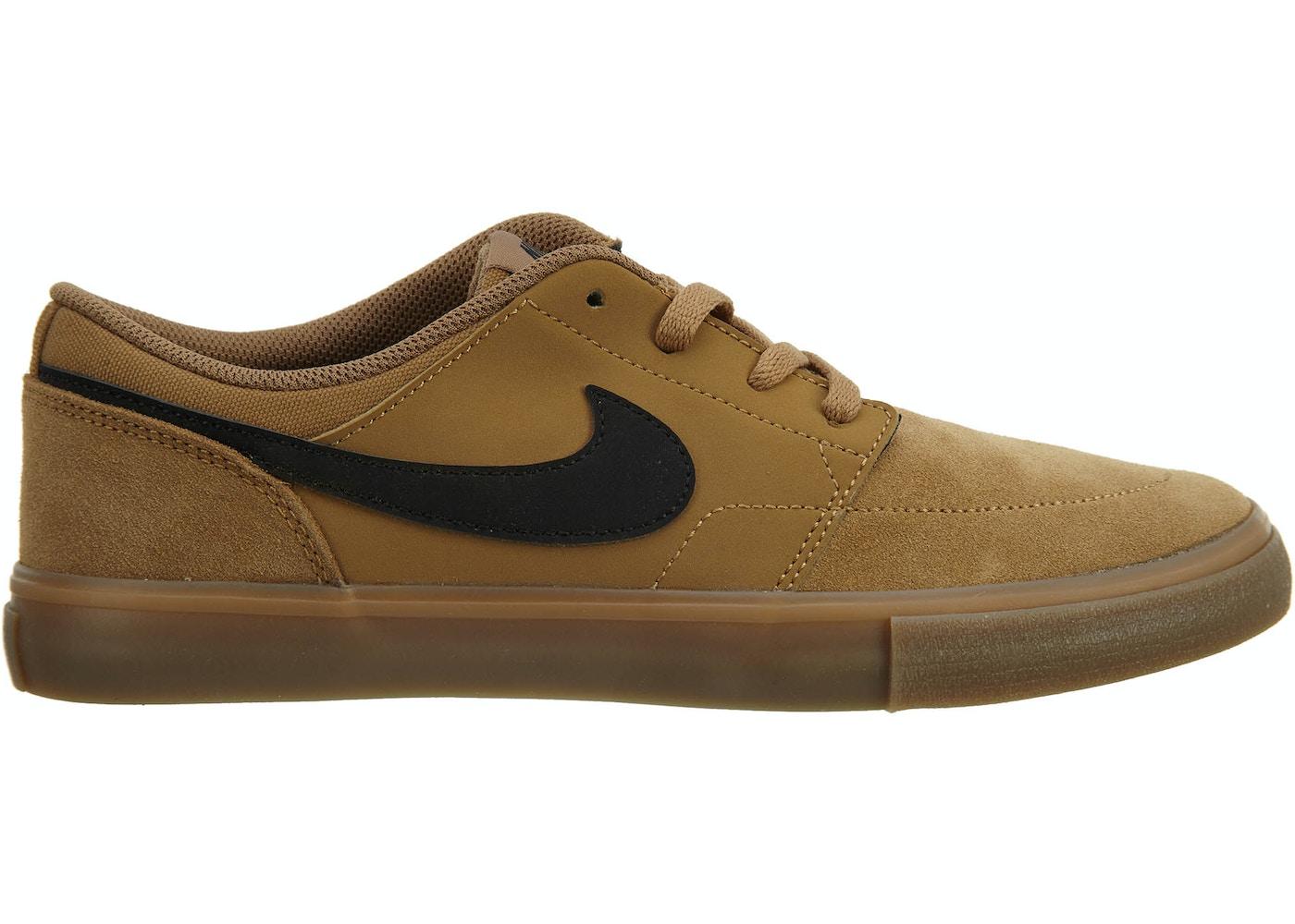 5bf25871b1 Nike Sb Portmore Ii Solar Golden Beige/Black - 880266-209 nike sb portmore
