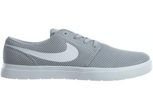 sports shoes 46b1b eb27d Nike Sb Portmore Il Ultralight Wolf Grey White