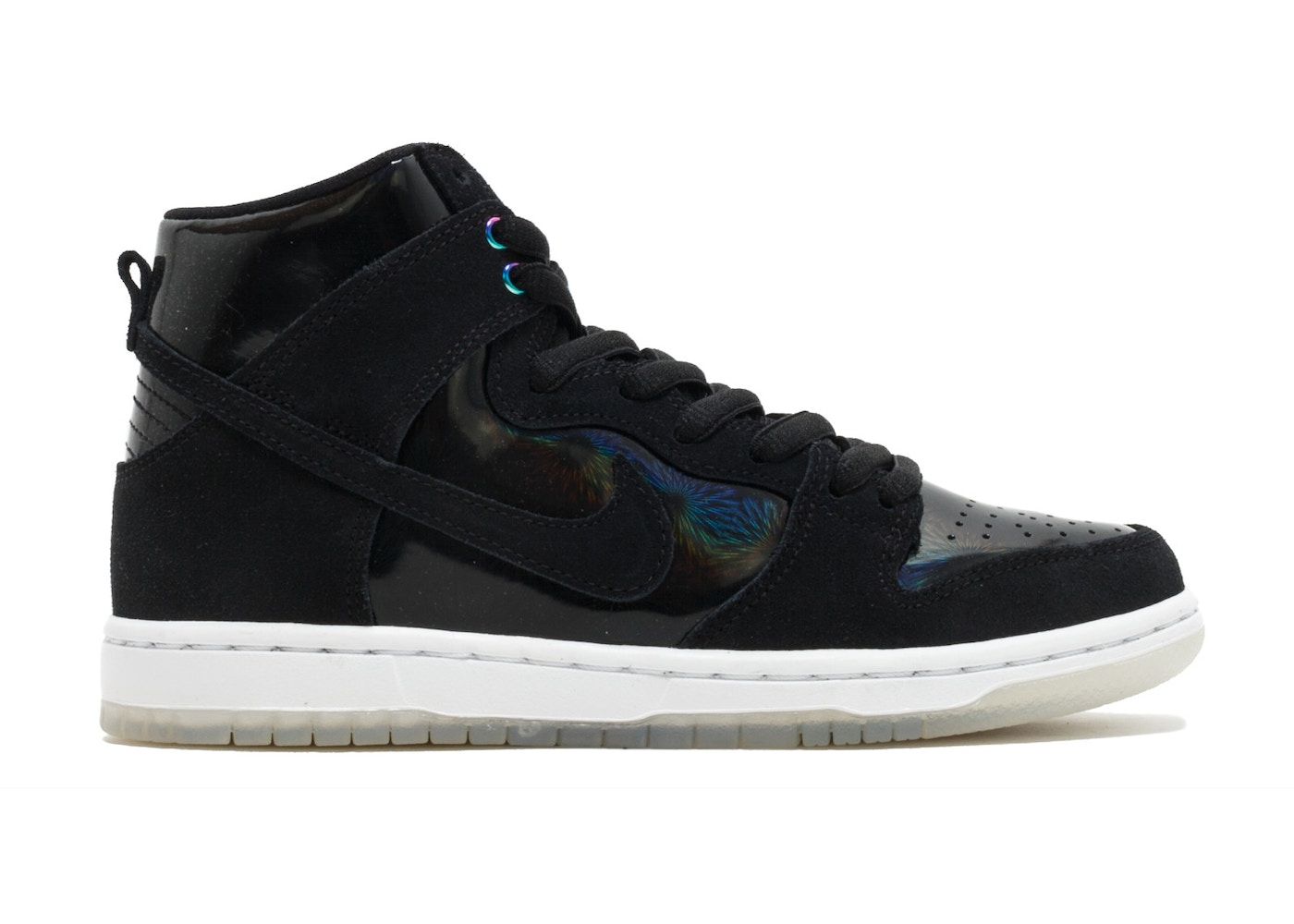 recoger congelador seco  Nike Sb Zoom Dunk High Pro Black/Black-White-Clear - 854851-001
