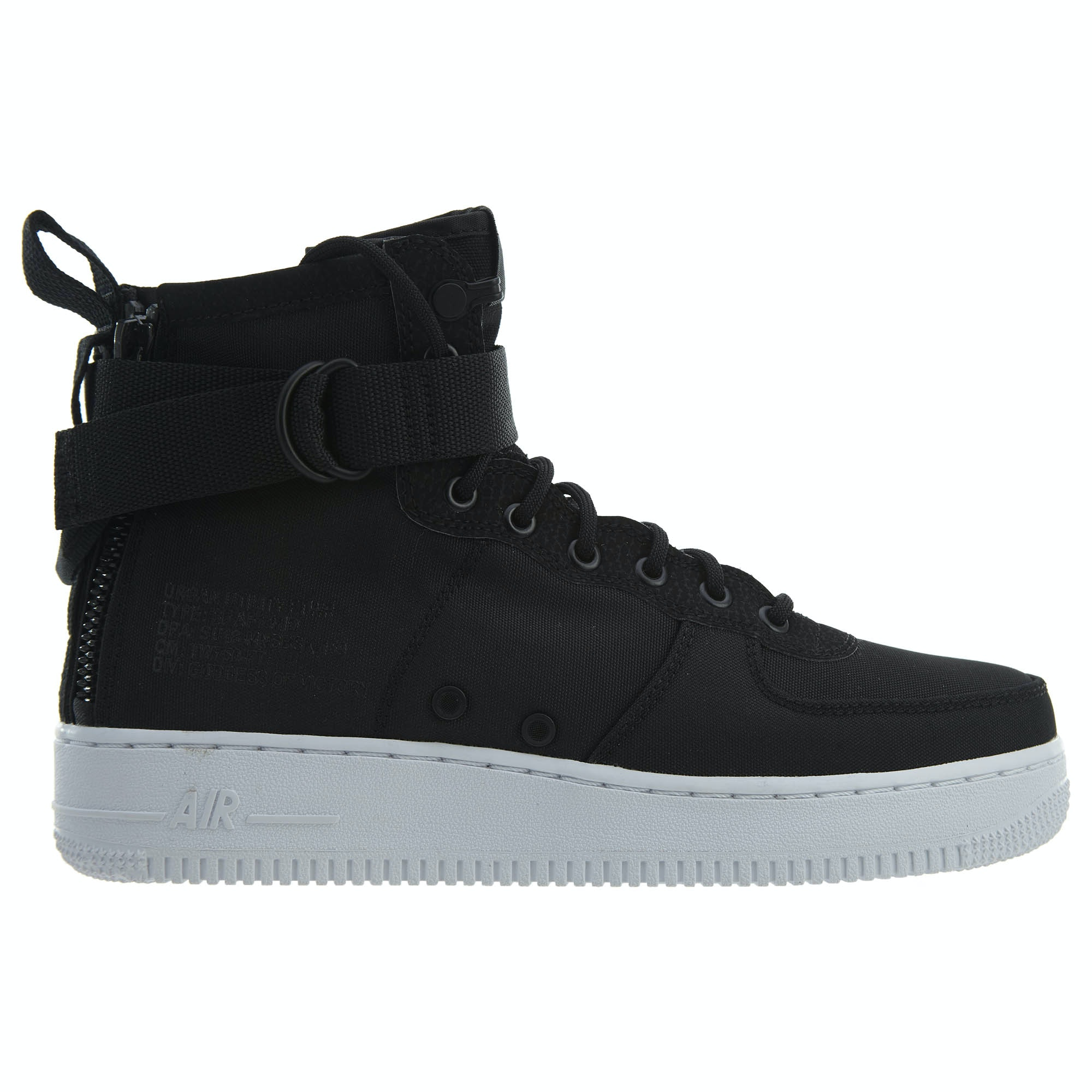 Nike Sf Af1 Mid Black Anthracite-White