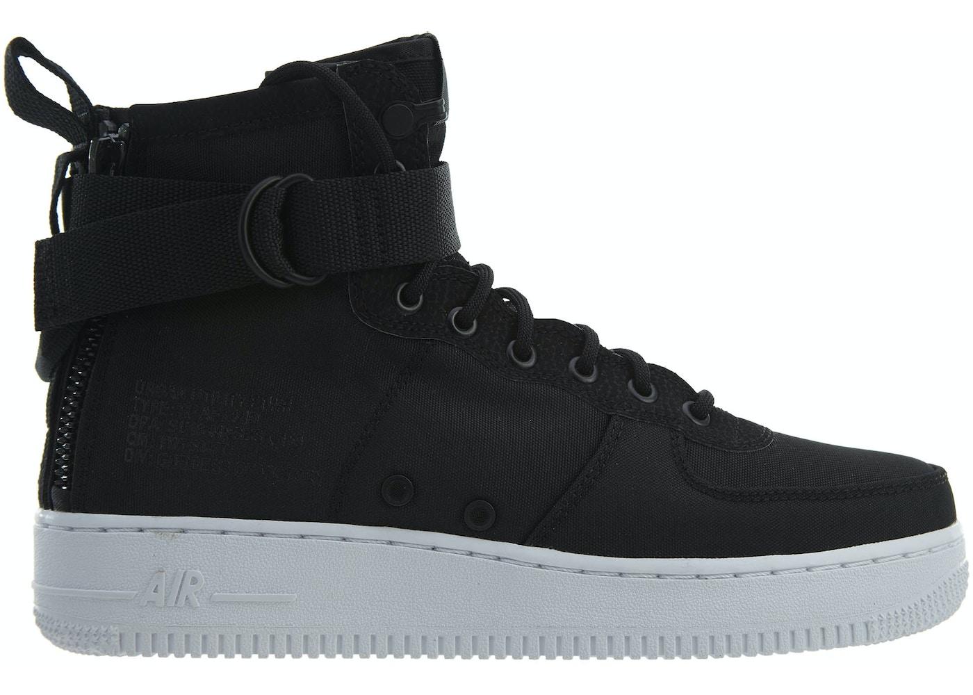 huge selection of 9910d 93809 Nike Sf Af1 Mid Black Anthracite-White
